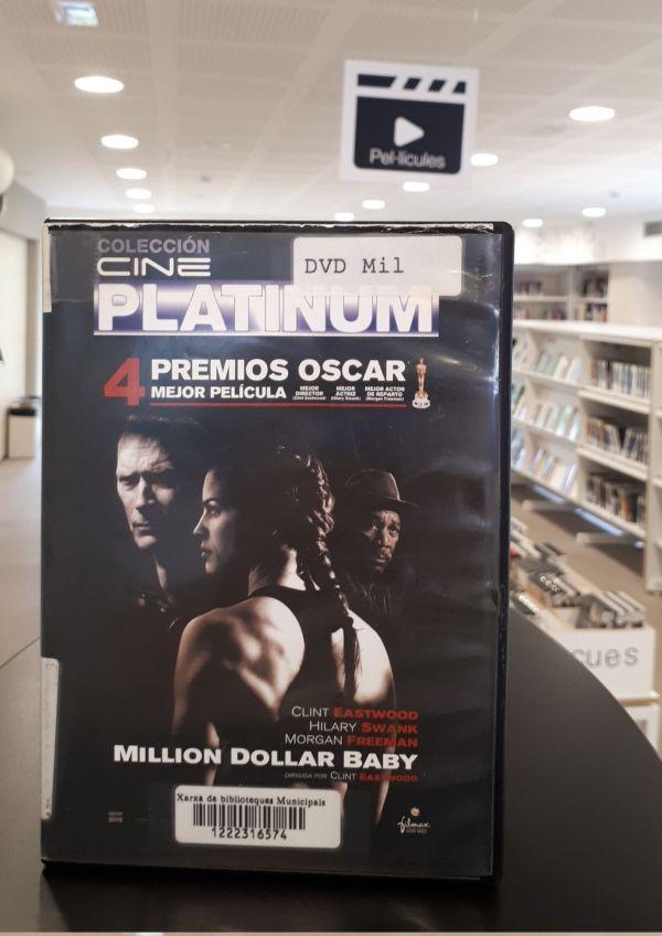 Imatge del DVD de la pel·lícula Million dollar baby