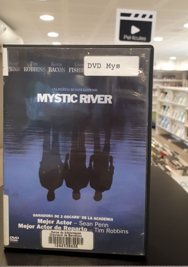 Imatge del DVD de la pel·lícula Mystic River