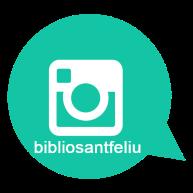 Imatge Instagram amb vincle bibliosantfeliu