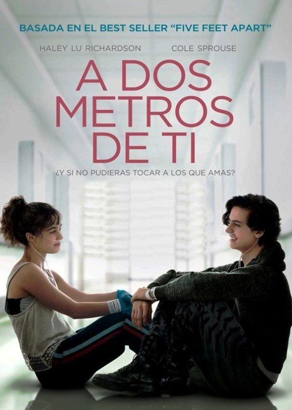 Imatge del cartell de la pel·lícula A dos metros de ti