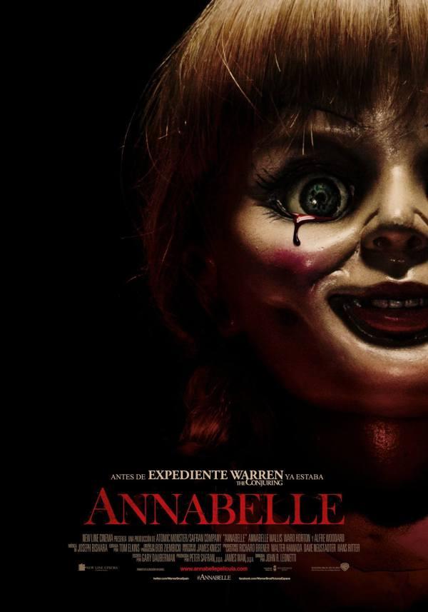 Imatge del cartell de la pel·lícula Annabelle