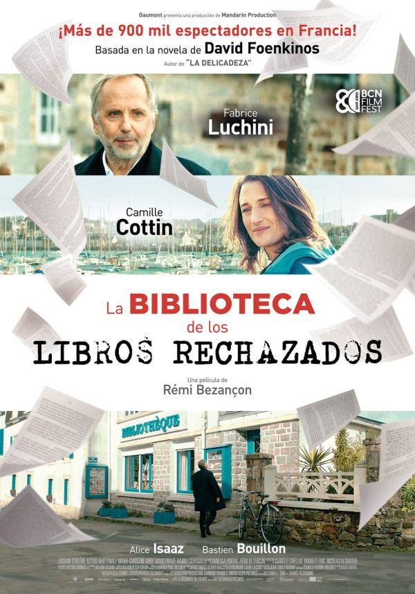 Imatge del cartell de la pel·lícula La biblioteca de los libros rechazados