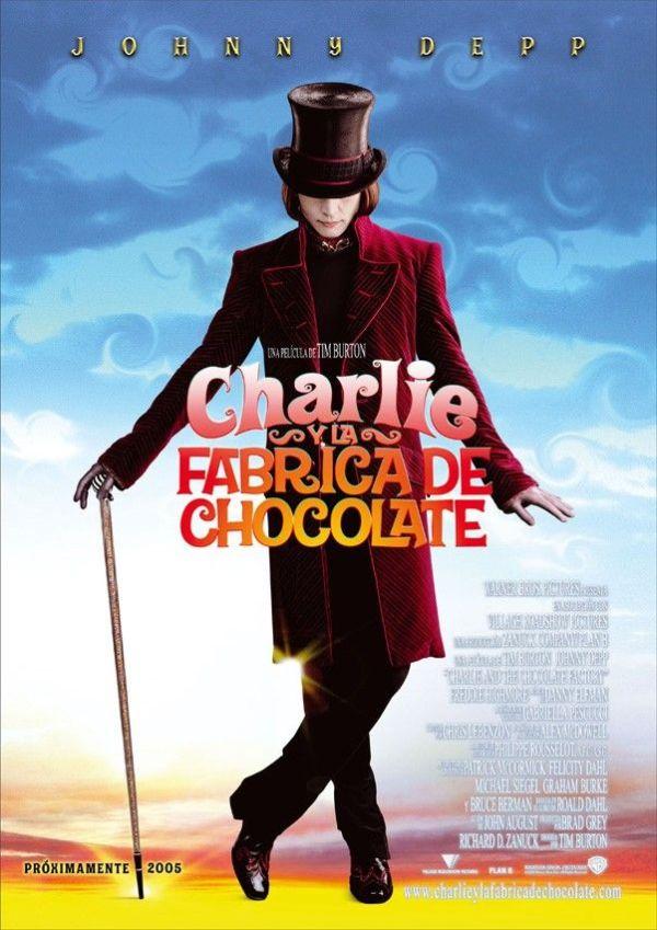 Imatge del cartell de la pel·lícula Charlie y la fábrica de chocolate