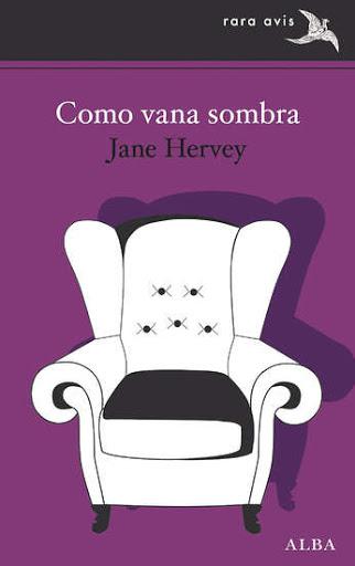 Portada de la novel·la Como vana sombra de Jane Hervey