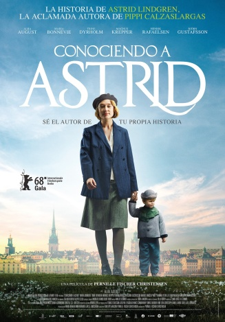 Imatge del cartell de la pel·lícula Conociendo a Astrid