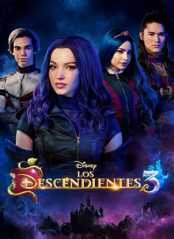 Imatge del cartell de la pel·lícula Los Descendientes 3