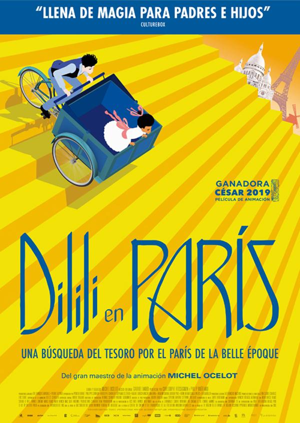 Imatge del cartell de la pel·lícula Dilili en París