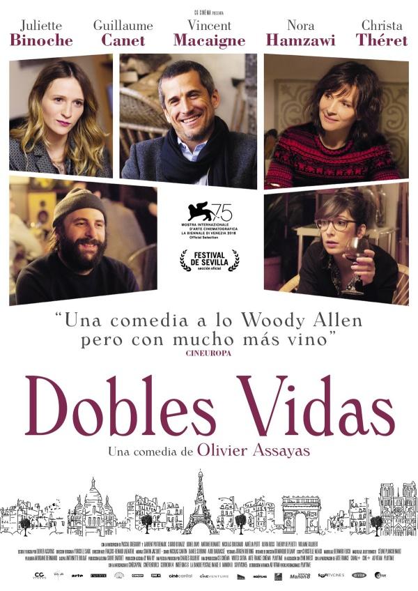 Imatge del cartell de la pel·lícula Dobles vidas