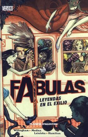 Imatge de la portada del llibre Fábulas: Leyendas en el exilio