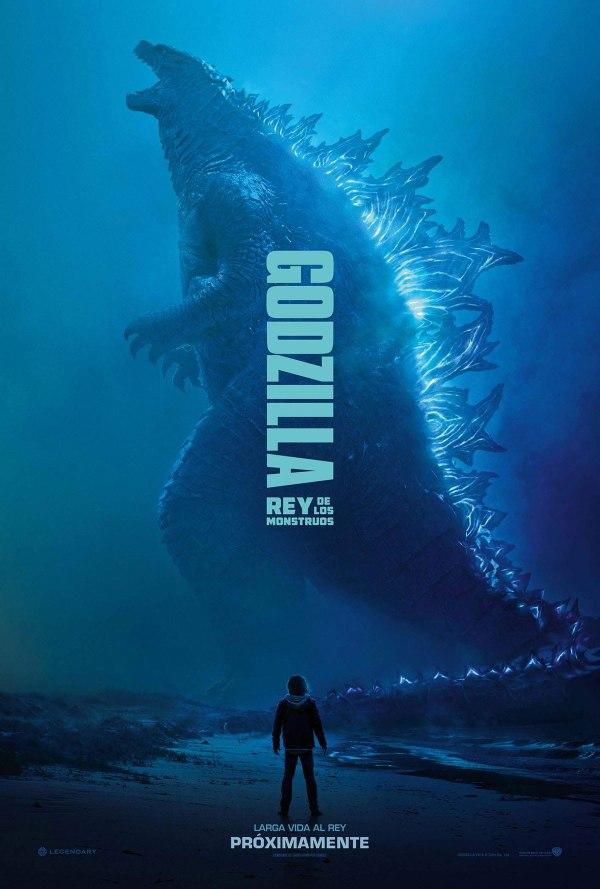 Imatge del cartell de la pel·lícula Godzilla. Rey de los monstruos