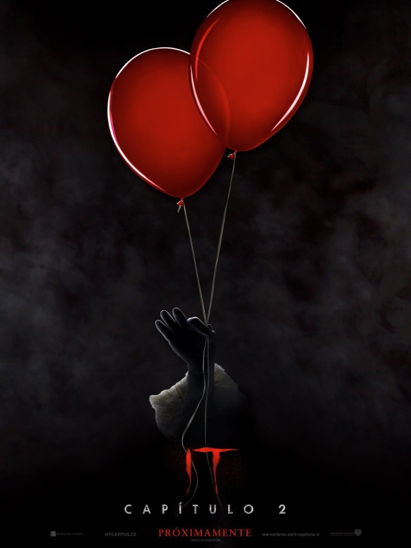 Imatge del cartell de la pel·lícula It. Capítulo 2