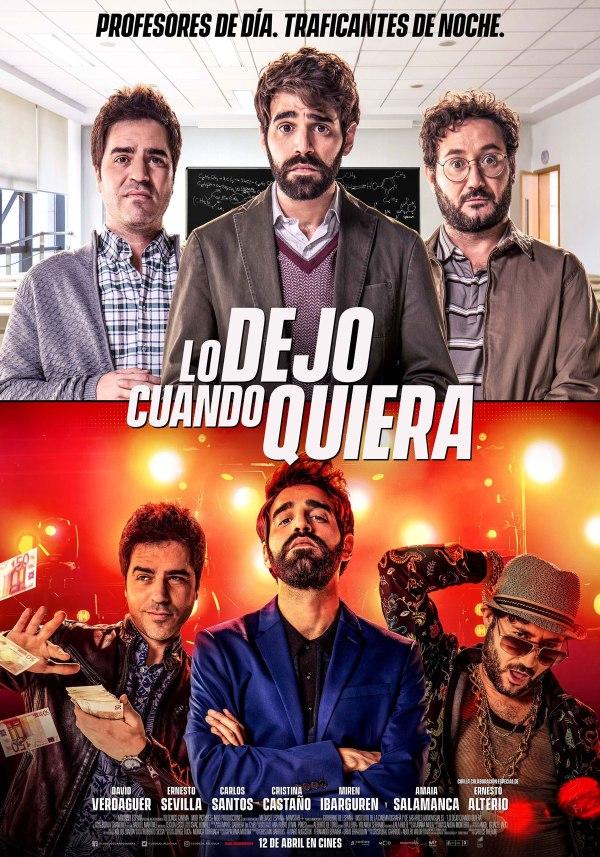 Imatge del cartell de la pel·lícula Lo dejo cuando quiera