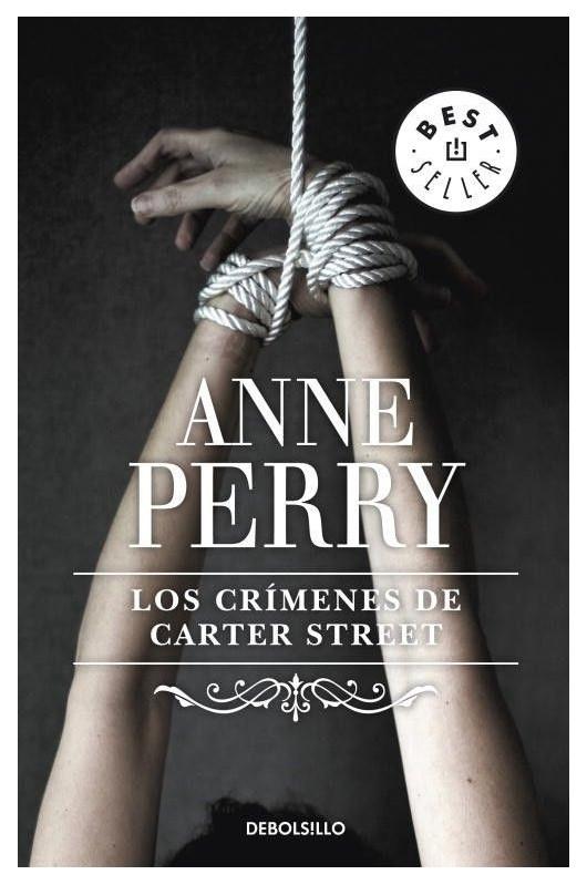 Portada de la novel·la Los crímenes de Carter Street d'Anne Perry