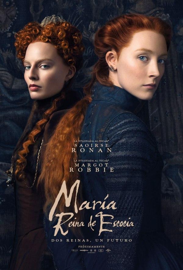 Imatge del cartell de la pel·lícula María Reina de Escocia