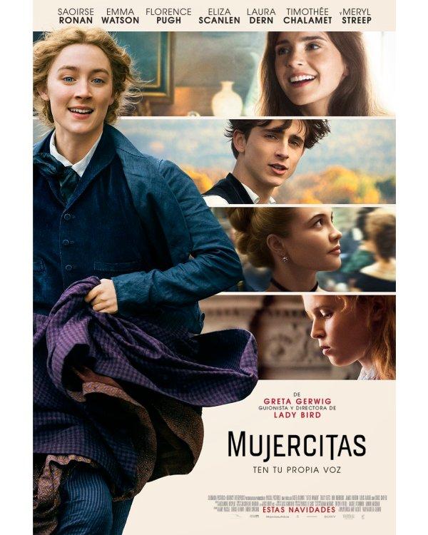 Imatge del cartell de la pel·lícula Mujercitas