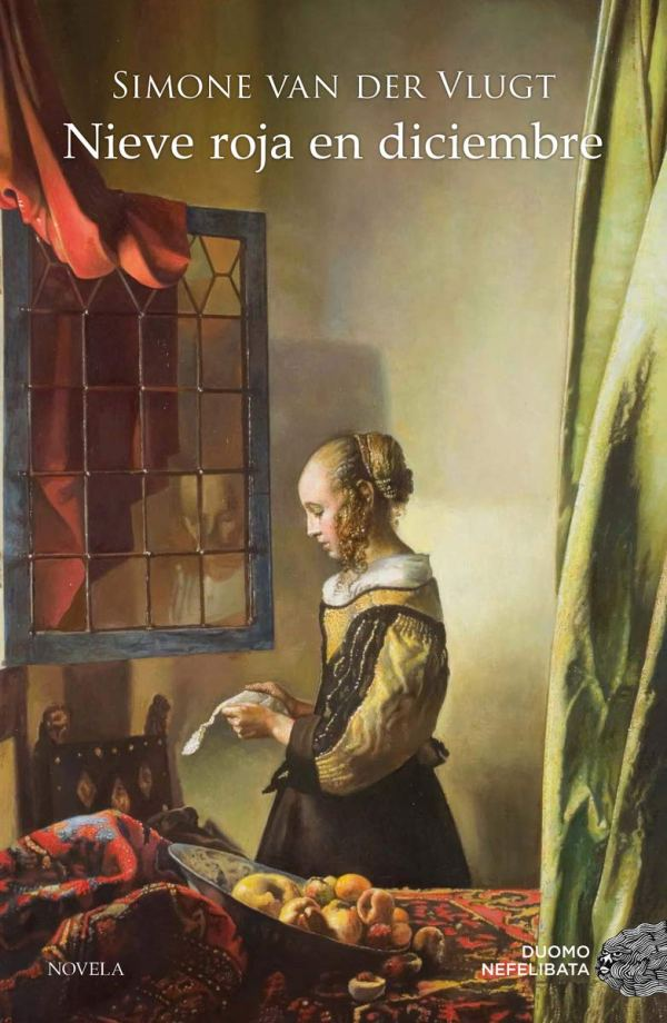 Portada de la novel·la Nieve roja en diciembre de Simone Van der Vlugt