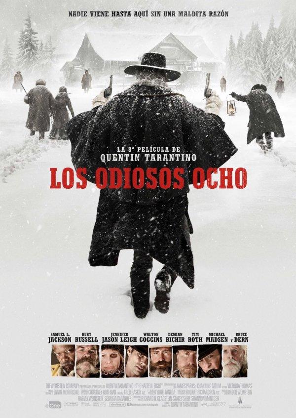 Imatge del cartell de la pel·lícula Los odiosos 8