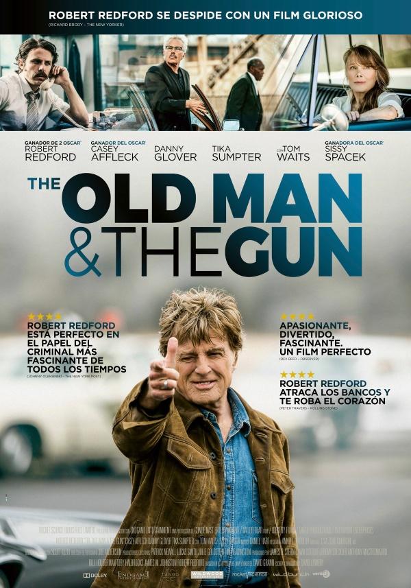 Imatge del cartell de la pel·lícula The old man & the gun