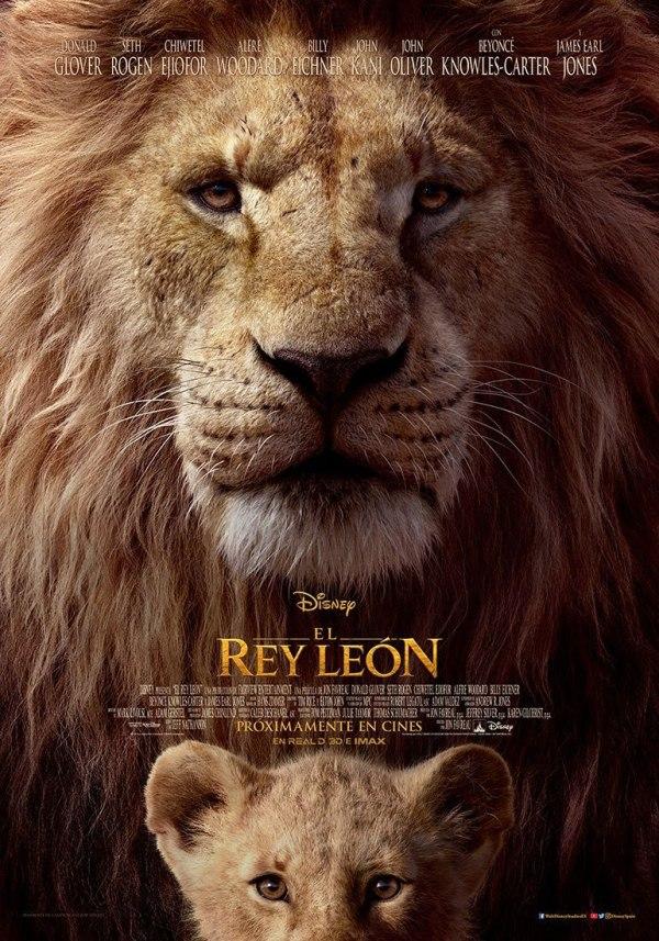Imatge del cartell de la pel·lícla El Rey León