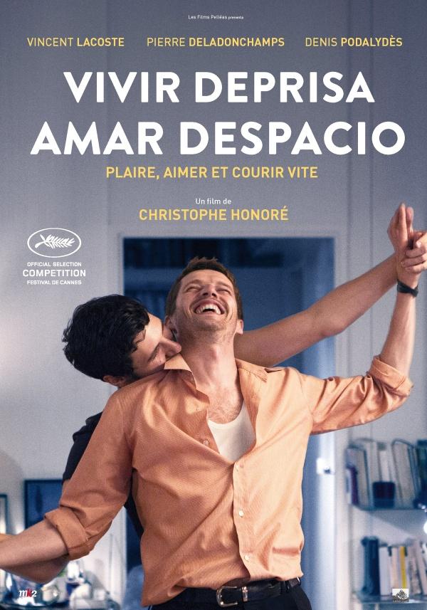 Imatge del cartell de la pel·lícula Vivir deprisa, amar despacio