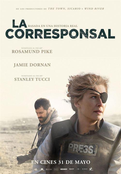 Imatge del cartell de la pel·lícula La corresponsal