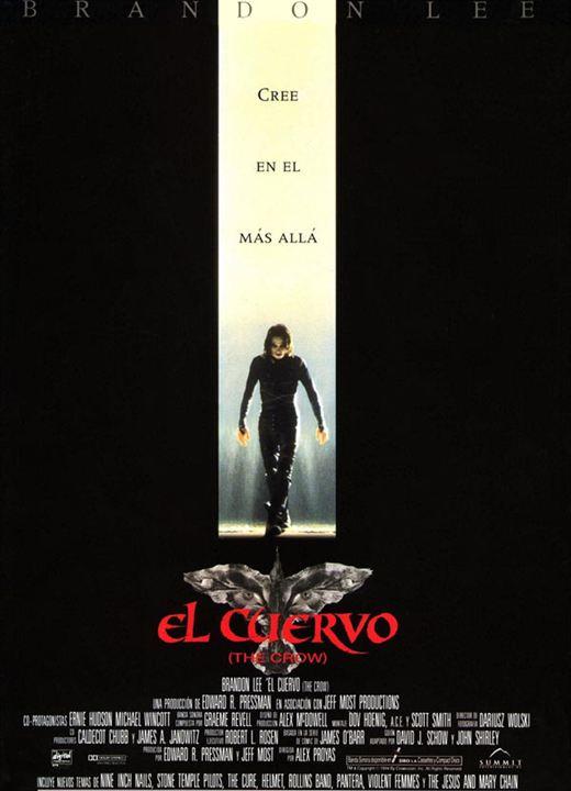 Imatge del cartell de la pel·lícula El cuervo