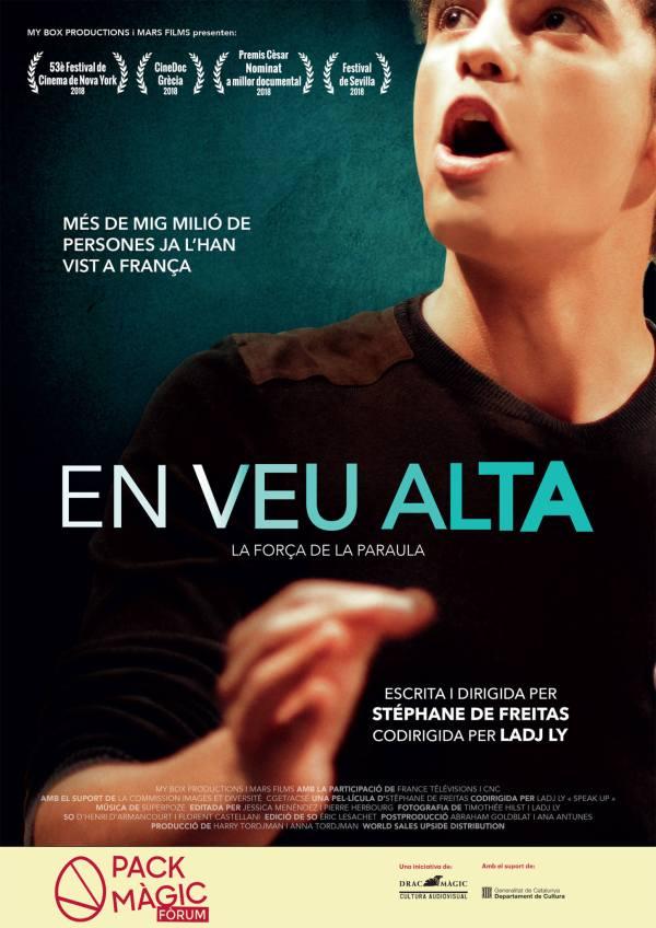 Imatge del cartell de la pel·lícula En veu alta