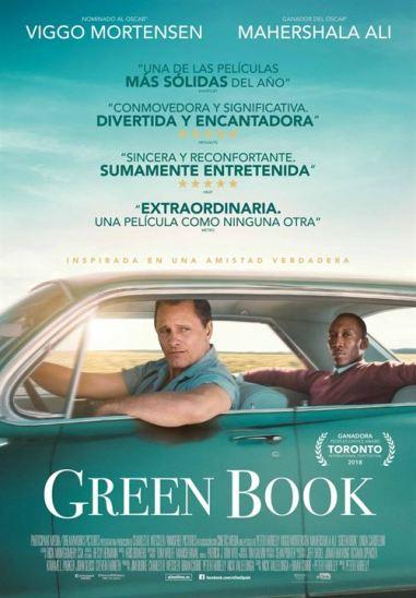 Imatge del cartell de la pel·lícula Green book