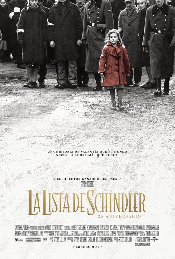 Imatge del cartell de la pel·lícula La lista de Schindler