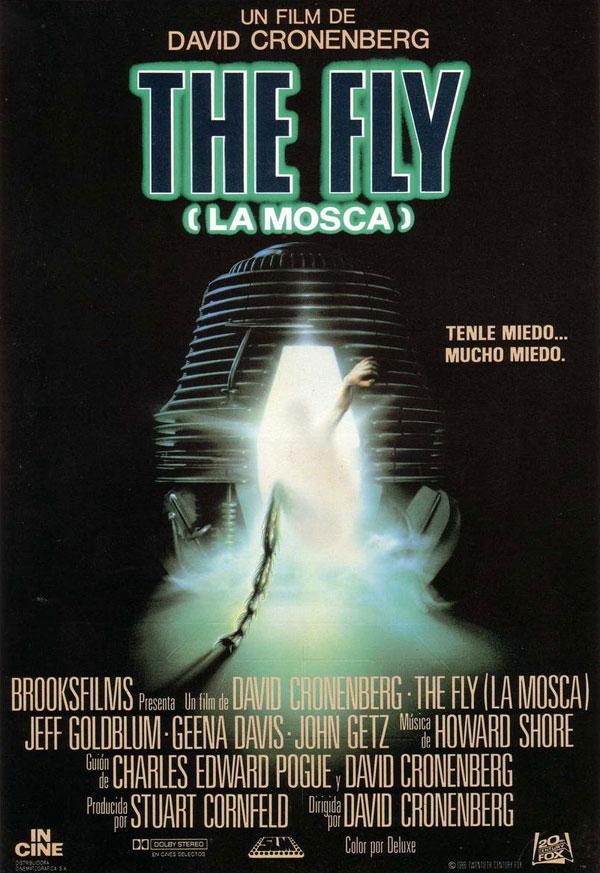 Imatge del cartell de la pel·lícula La mosca