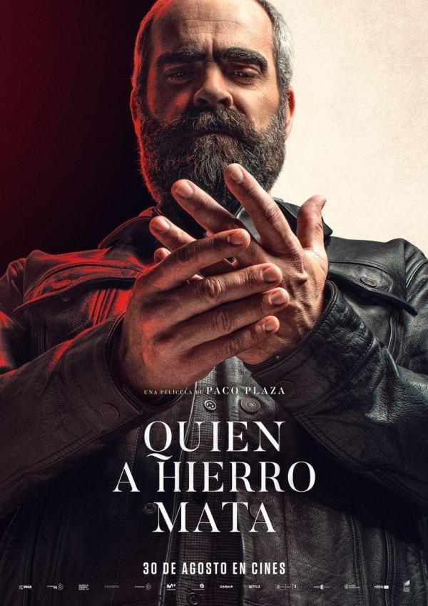 Imatge del cartell de la pel·lícula Quién a hierro mata