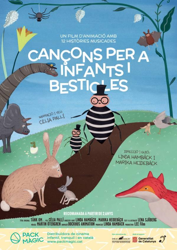Imatge del cartell de la pel·lícula Cançons per a infants i bestioles