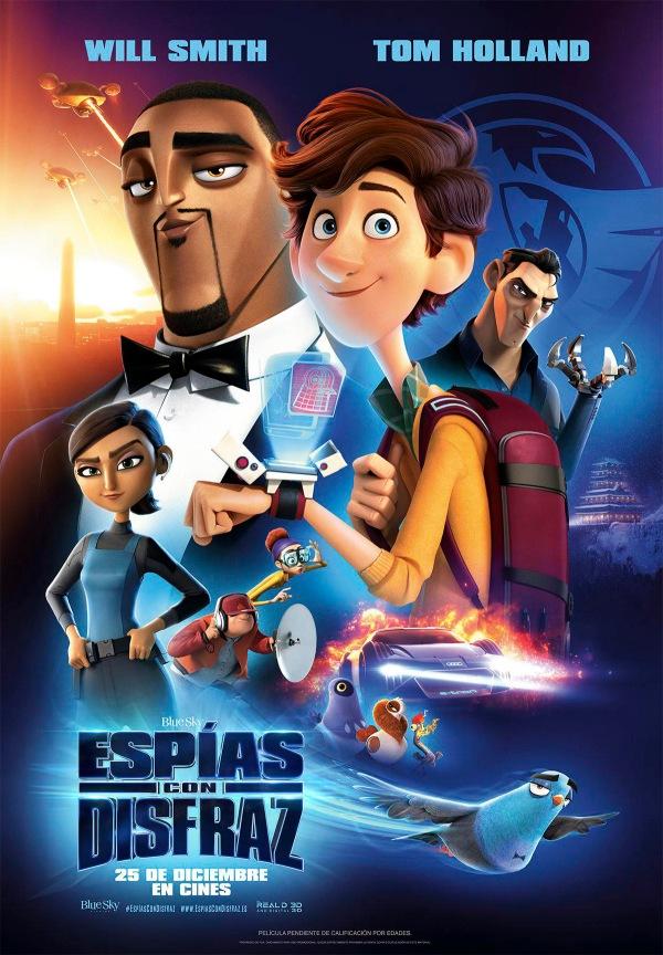Imatge del cartell de la pel·lícula Espías con disfraz