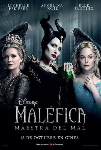 Imatge del cartell de la pel·lícula Maléfica: maestra del mal