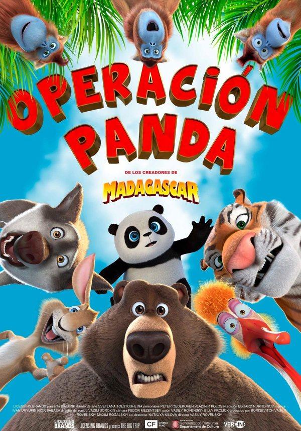 Imatge del cartell de la pel·lícula Operación Panda