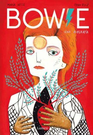 Imatge de la portada del llibre Bowie, una biografía