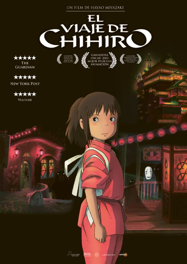 Imatge del cartell de la pel·lícula El viaje de Chihiro