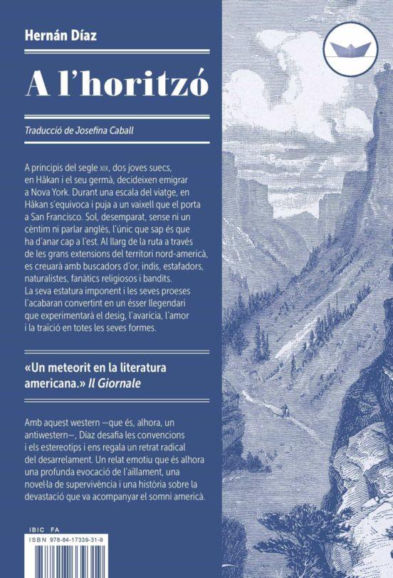 Imatge de la portada de la novel·la A l'horitzó