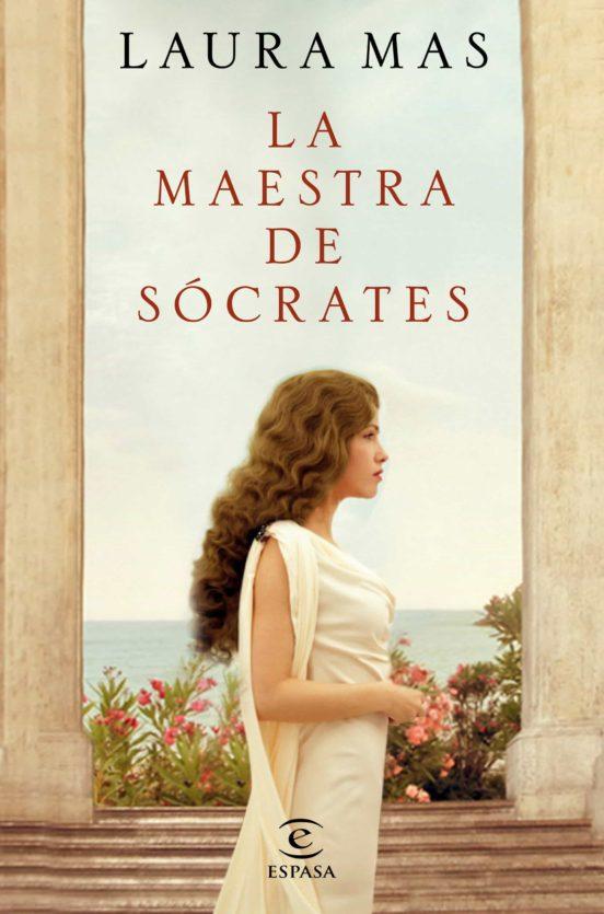 Imatge de la portada de la novel·la La maestra de Sócrates