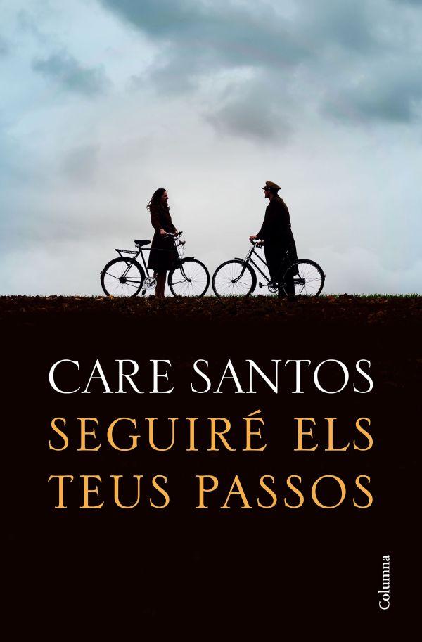 Imatge de la portada de la novel·la Seguiré els teus passos