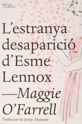 Imatge de la portada del novel·la L'estranya desaparició d'Esme Lennox
