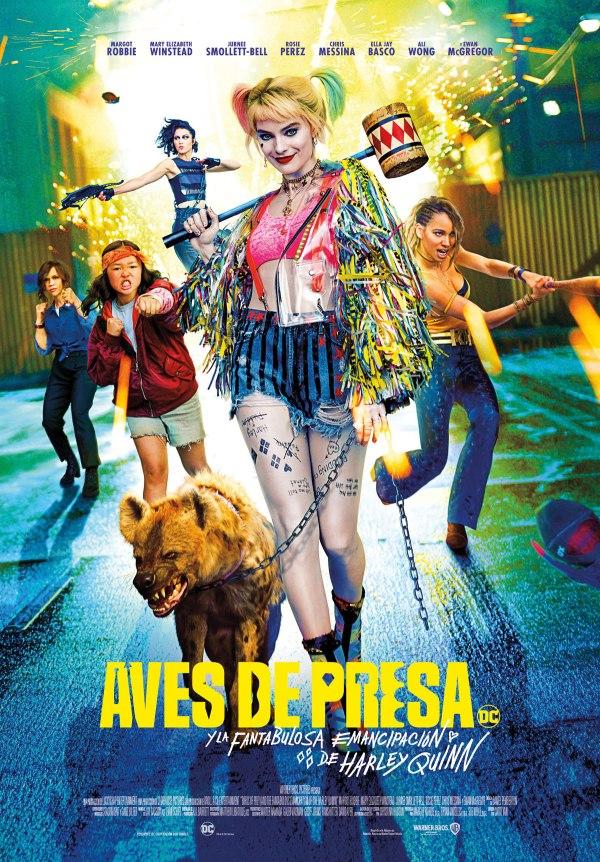 Imatge del cartell de la pel·lícula Aves de presa