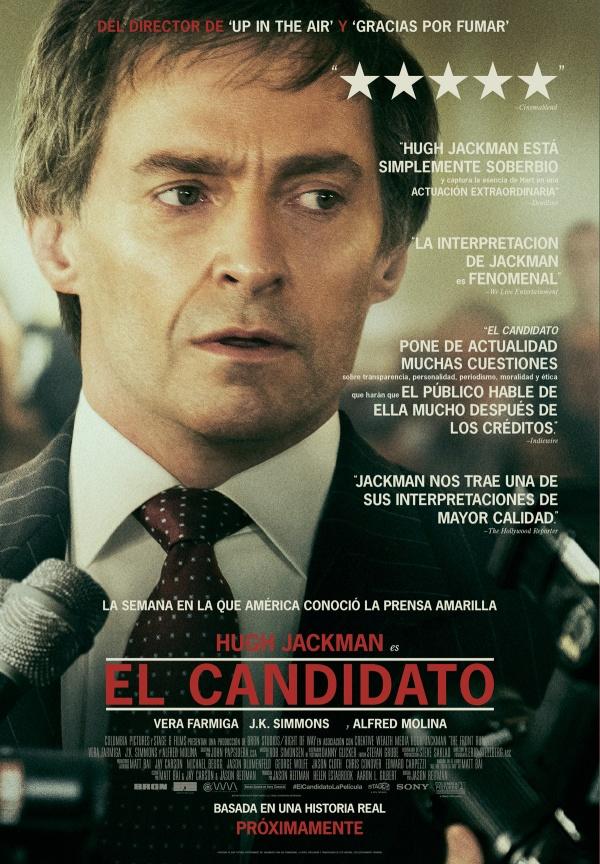 Imatge del cartell de la pel·lícula El candidato