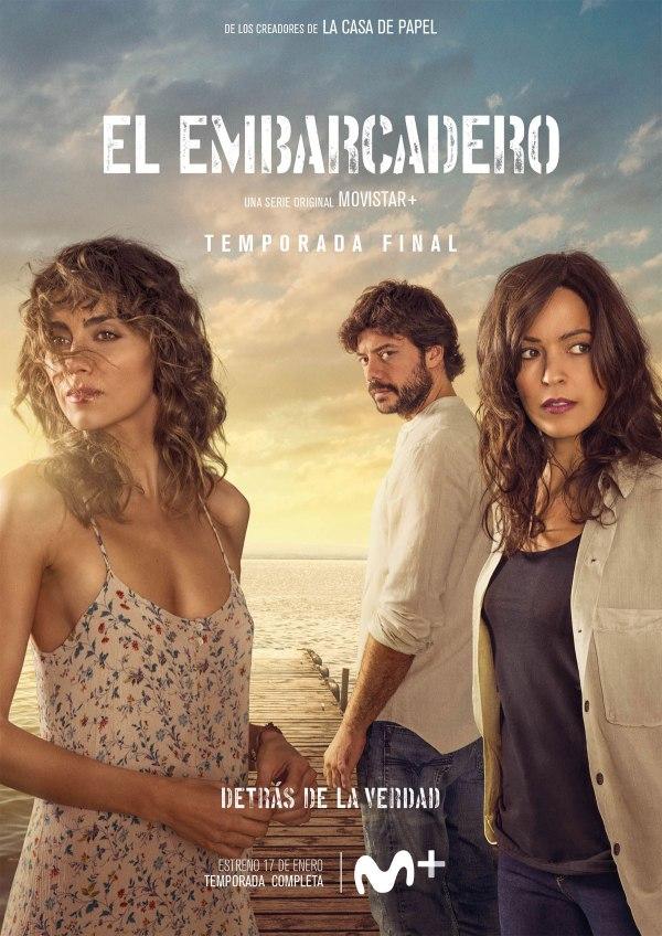 Imatge del cartell de la sèrie El embarcadero