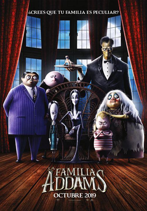 Imatge del cartell de la pel·lícula La familia Addams