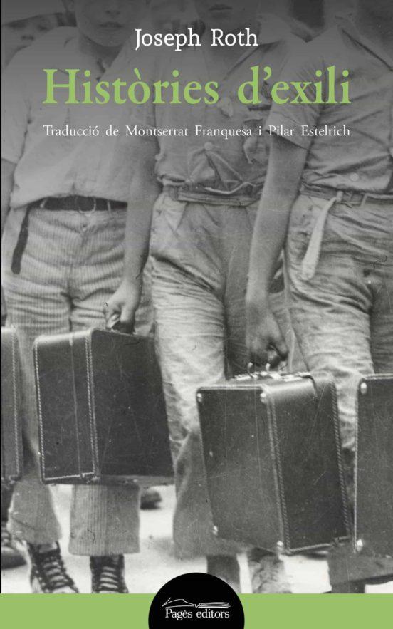 Imatge de la portada de la novel·la Històries de l'exili
