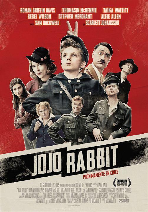 Imatge del cartell de la pel·lícula Jojo Rabbit