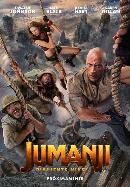 Imatge del cartell de la pel·lícula Jumanji siguiente nivel