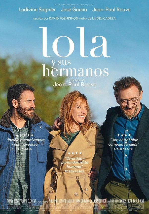 Imatge del cartell de la pel·lícula Lola y sus hermanos