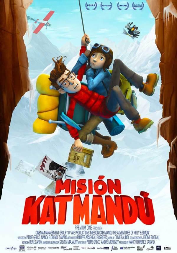 Imatge del cartell de la pel·lícula Misión Katmandú